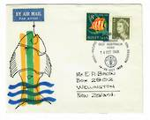 AUSTRALIA 1968 INDONESIA-Pacific Fisheries Council. Souvenir cover with special postmark. - 32023 - PostalHist