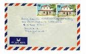 FIJI 1987 Airmail Letter to New Zealand. - 32135 - PostalHist