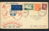 AUSTRALIA 1933 First official Airmail to Papua New Guinea. - 32244 - PostalHist