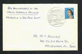 AUSTRALIA  1967 50th Anniversary of the Trans-Australia Railway. Special Postmark on cover. - 32258 - PostalHist