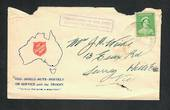 "AUSTRALIA 1941 Cover Salvation Army. Cachet ""Department of the Army Concession Postal Rate'. Tatty but clean. - 32262 - PostalHi"