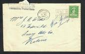 "AUSTRALIA 1941 Cover posted from Bathurst. Cachet ""Department of the Army Concession Postal Rate'. - 32295 - PostalHist"