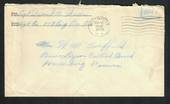 USA 1942 Letter from Serviceman. Freepost.