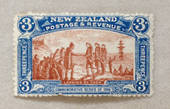NEW ZEALAND 1906 Christchurch Exhibition 3d Landing. Nice bright colours. Crease not visible at first look. - 3643 - Postmark
