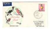AUSTRALIA 1964 Definitive 2/- Bird on first day cover. - 37452 - FDC