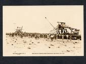 AUSTRALIA Real Photograph of the meeting of the Tracklayers from East and West 12/10/1917. - 40629 - Postcard
