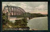 AUSTRALIA Coloured Postcard of The Hawkesbury River Railway Bridge. - 40658 - Postcard