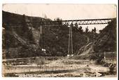 Real Photograph by Aldersley of Mokohine Viaduct Main Trunk Railway. - 40669 - Postcard