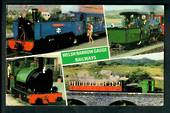 Coloured postcard of Welsh Narrow Guage Railways. - 40686 - Postcard