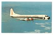 Coloured postcard of Eastern Airlines Lockhead L-188A Electra. - 40866 - Postcard