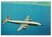 Coloured postcard of Eastern Airlines Lockhead 1049G. - 40869 - Postcard