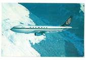Coloured postcard of Olympic Airbus A300. - 40875 - Postcard