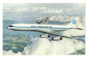 Coloured postcard of Pan American Boeing International Jet Clipper. - 40893 - Postcard