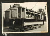 GREAT BRITAIN Real Photograph of Barnsley Tram. - 42267 - Postcard