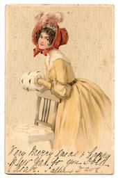 Coloured postcard. Superb Glamour card. - 43755 - Postcard