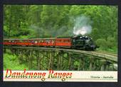 AUSTRALIA Modern Coloured Postcard of Puffing Billy Dandenong. - 444709 - Postcard