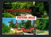 AUSTRALIA Modern Coloured Postcard of Puffing Billy Dandenong. - 444711 - Postcard