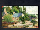 Coloured postcard of Washerwomen at Pont Aven by Gauguin. - 444730 - Postcard