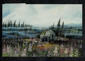"Modern Coloured Postcard of Painting of the ""Valley of the Bears"". - 444854 - Postcard"