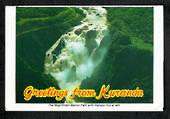 "AUSTRALIA Colour View ""Greetings from Kuranda"". Almost all views relate to Railways. - 444900 - Postcard"
