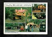 AUSTRALIA Modern Coloured Postcards of Victoria. Mainly Trains. - 444932 - Postcard
