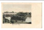 Coloured Postcard of Ngaruawahia Bridge. NEW ZEALAND Postmark Auckland RAMARAMA. A Class cancel. - 45722 - Postcard