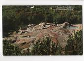 Coloured postcard of Boiling Mud Pools Whakarewarewa. - 45924 - Postcard