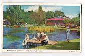 Coloured postcard by G B Scott of Hamurana Springs. - 45940 - Postcard