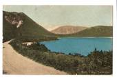 Coloured postcard of Blue Lake Tikitapu. - 45950 - Postcard