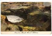 Coloured postcard of Devils Punch Bowl Tikitere. - 46032 - Postcard