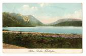 Coloured postcard of Blue Lake Tikitapu. - 46072 - Postcard