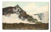 Coloured postcard by R G Narsh of Gibraltar Rock and Frying Pan Flat. - 46080 - Postcard