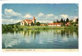 Coloured postcard by PPL of Hastings of Maori Church Ohinemutu. - 46166 - Postcard