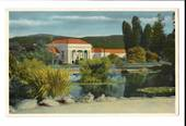 Coloured postcard by Reed of the Ward Baths Rotorua. - 46179 - Postcard