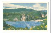 Coloured postcard by Reed of Frying Pan Lake Waimangu. - 46287 - Postcard