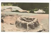 Coloured postcard by Willaims and Ayres of Brain Pot Rotorua. - 46297 - Postcard
