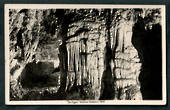 Real Photograph by A B Hurst & Son of The Organ Waitomo Caves. - 46416 - Postcard