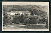 Real Photograph by A B Hurst & Son of Waitomo Hotel. - 46419 - Postcard