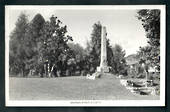 Real Photograph by A B Hurst & Son of The Cenotaph Te Kuiti. - 46421 - Postcard