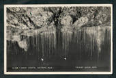 Real Photograph by P Tarrant Waitomo of Glow Worm Grotto. - 46427 - Postcard