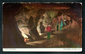 Coloured postcard by Tanner Couch of the Caverns Waitomo Caves - 46442 - Postcard