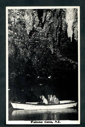 Real Photograph by N S Seaward of Waitomo Caves. - 46451 - Postcard