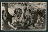 Real Photograph by N S Seaward of Waitomo Caves. - 46454 - Postcard