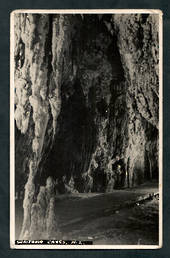 Real Photograph by N S Seaward of Waitomo Caves. - 46456 - Postcard