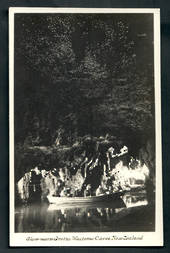 Postcard of Glow-worm Grotto Waitomo Caves. - 46466 - Postcard