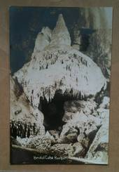 Real Photograph by Radcliffe of Bridal Cake Ruakuri Cave Waitomo. - 46470 - Postcard
