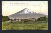 Coloured Postcard by Muir & Moodie of Mt Egmont. - 47095 - Postcard