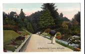 Coloured postcard of Botannical Gardens Wellington. - 47363 - Postcard
