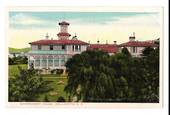 Coloured postcard of Government House Wellington. - 47369 - Postcard