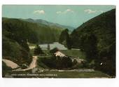 Coloured postcard of Kariri Reservoir Wellington. - 47370 - Postcard